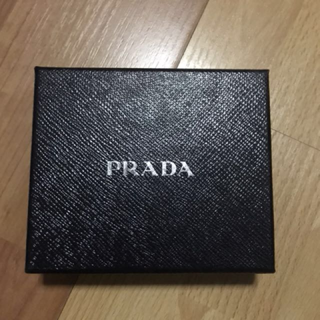 ef77aa963b77c Prada textured-leather wallet