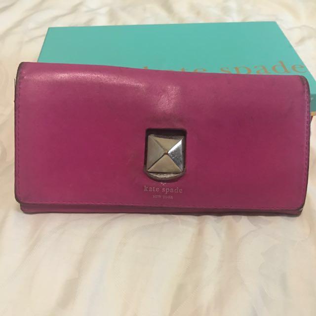 Preloved Kate Spade wallet (jual murah)