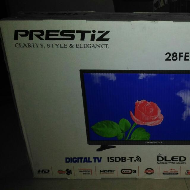 prestiz 28 inch led tv