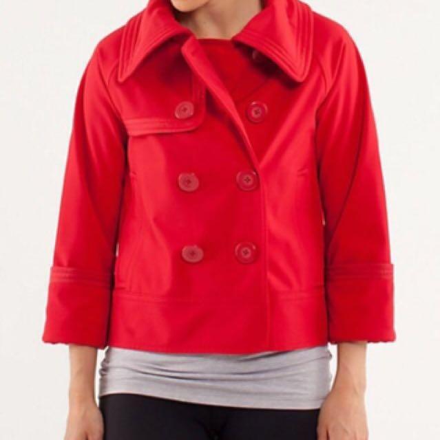 *price drop* Lululemon Short Trench Jacket