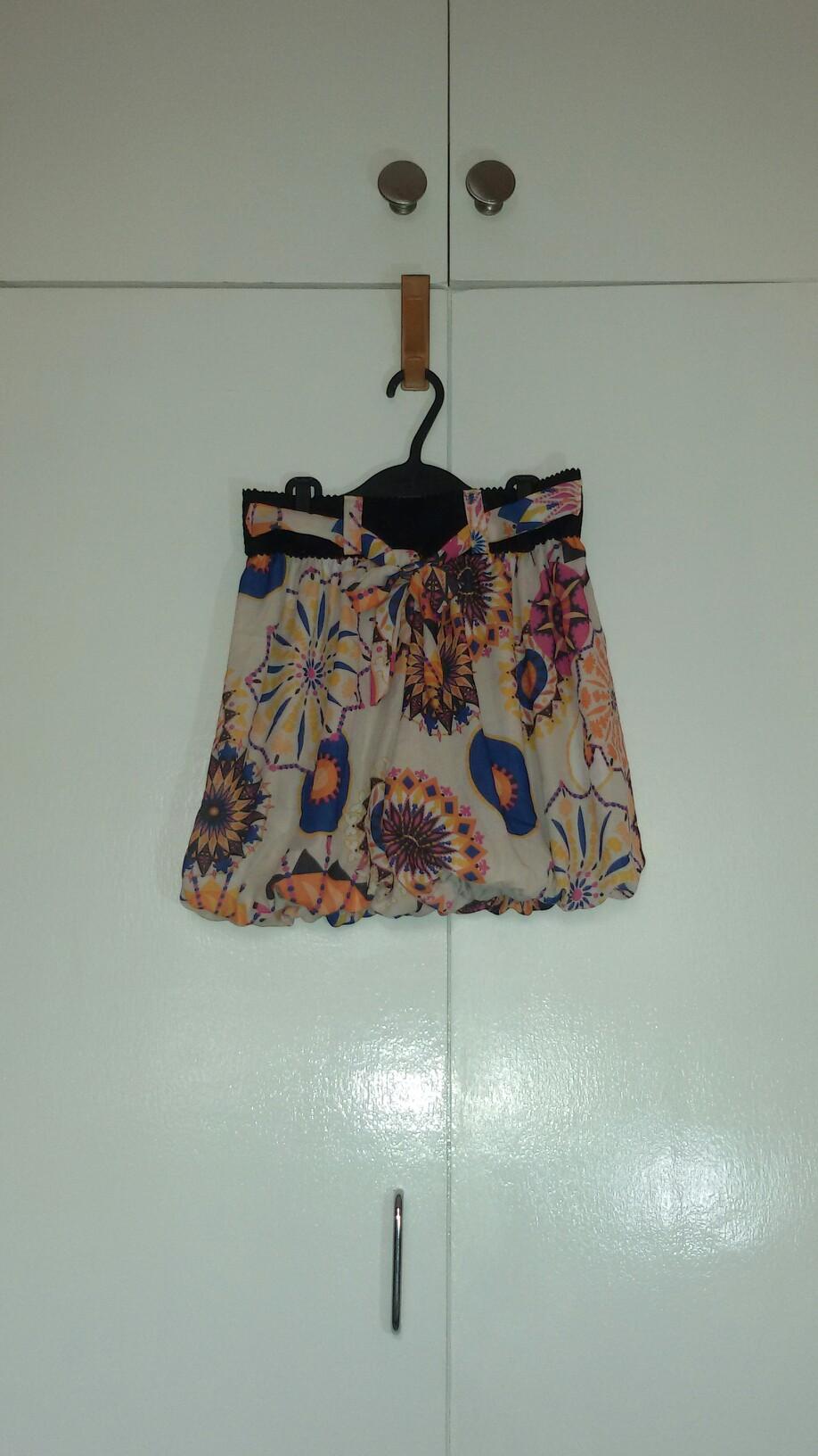 Printed Skirt Medium