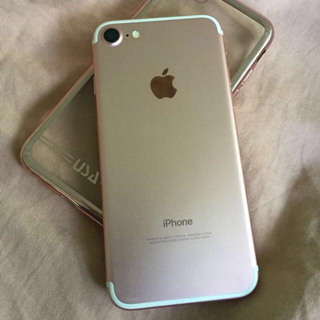 REPRICE !! Iphone 7 Rose Gold 32gb, Mulus Bisa COD