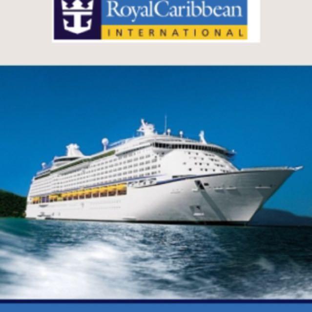 Royal carribean cruise $1000 (10pcs x $100) cash voucher ...