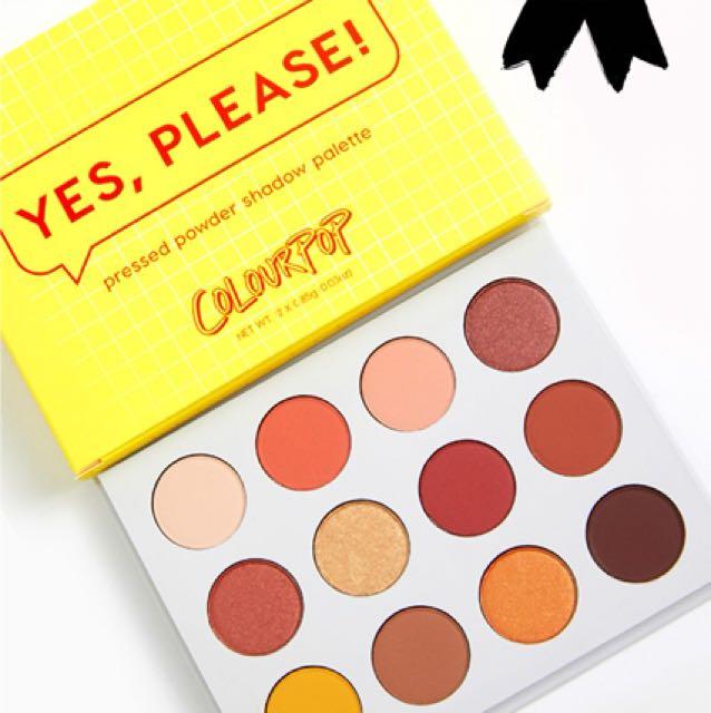 RS Colourpop Yes Please! Palette