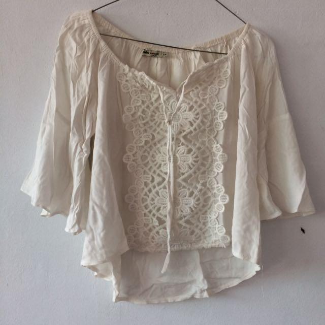 Sabhrina White Ada Fashion