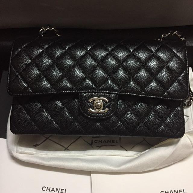 fb0b4c1c3b36bc Series #23 Chanel Medium Classic Flap Caviar, Luxury, Bags & Wallets on  Carousell