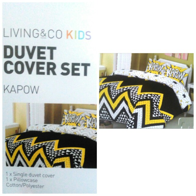 Single Duvet Cover set + 1 pillow case and decorative pillow