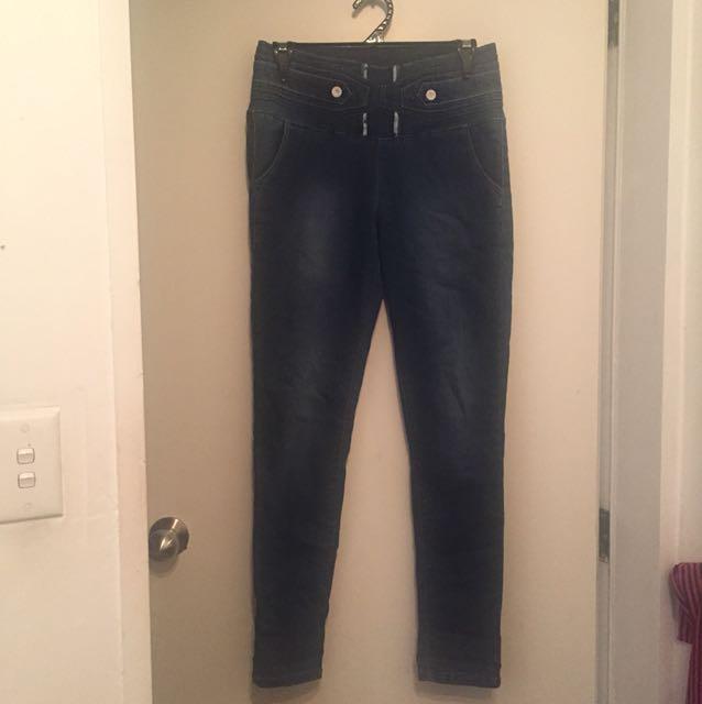 Size 12 blue jeggings
