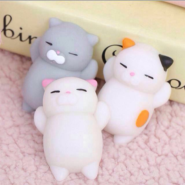 Small Squishy Cat Squeeze Toy