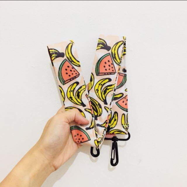 Strap Bag Pink Banana Watermelon