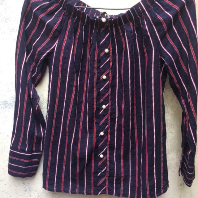 Stripe tshirt REPRICE