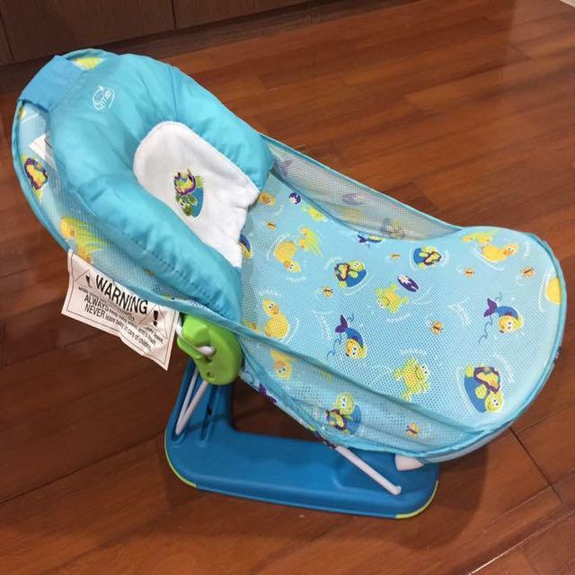 美國summer infant 可折疊便攜式嬰兒洗澡架