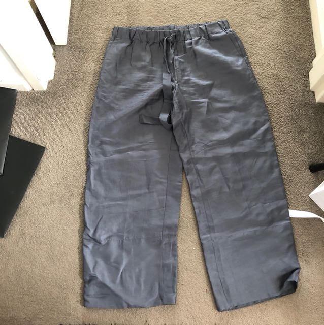 Sussans grey shiny pant