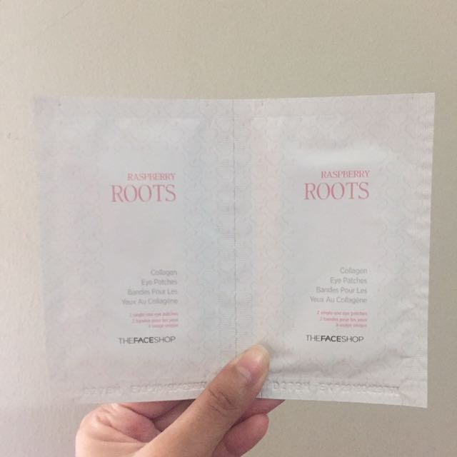 The Face Shop Raspberry Roots Collagen Eye Patches