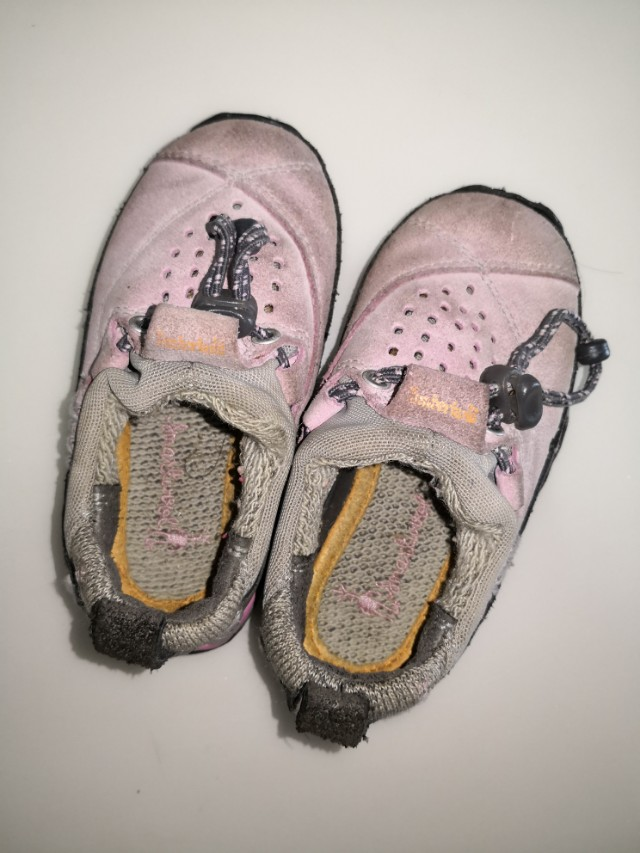 Timberland shoes pink