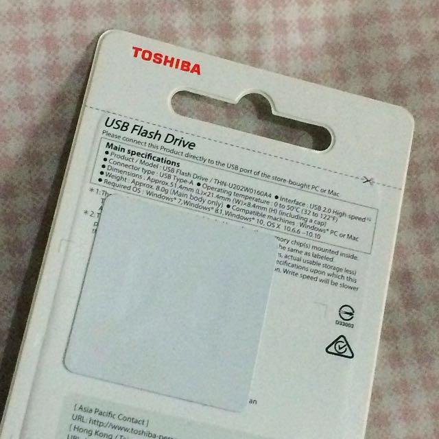 Toshiba Flash Drive, Electronics, Others on Carousell