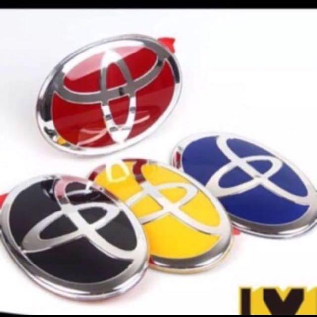 Toyota Car Logo Emblem Car Accessories On Carousell