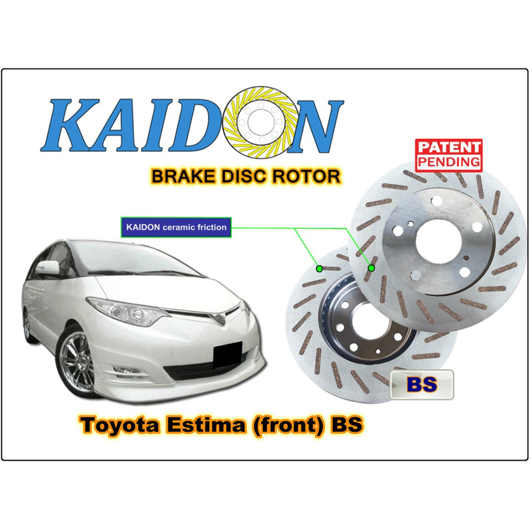 Toyota Estima Acr50 Disc Rotor Kaidon Front Type Rs Bs Spec Fuse Box Auto Accessories On Carousell