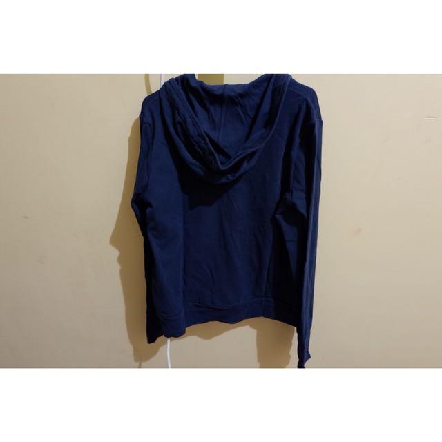 Uniqlo blue jacket
