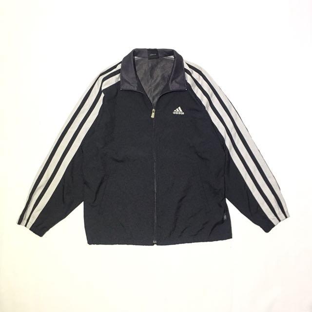 Vintage Adidas Cortaviento chaqueta, moda hombre, ropa carousell