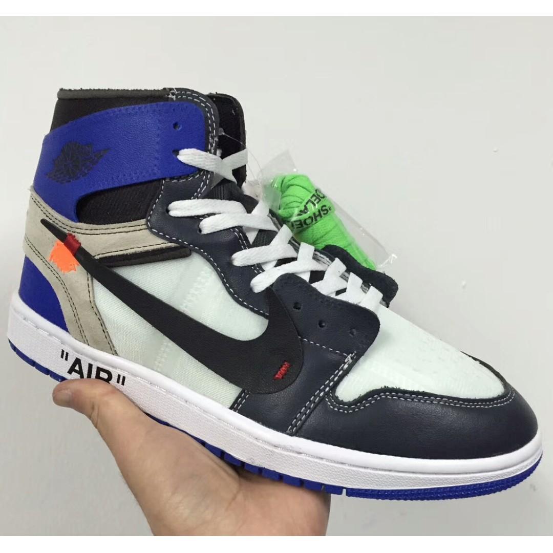 8137b2da3a28 Virgil Abloh x Off White x Fragment Design x Nike Air Jordan 1 ...