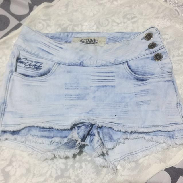 von dutch short skirt