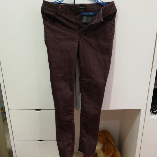 SALE! Warehouse Maroon pants