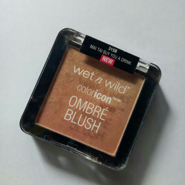 Wet n wild Ombre Blush (Mai tai buy you drink)