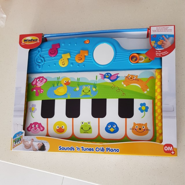 Winfun Sounds And Tunes Crib Piano Kick And Touch Babies Kids