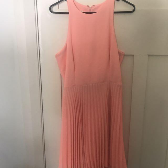 Witchery pleat dress