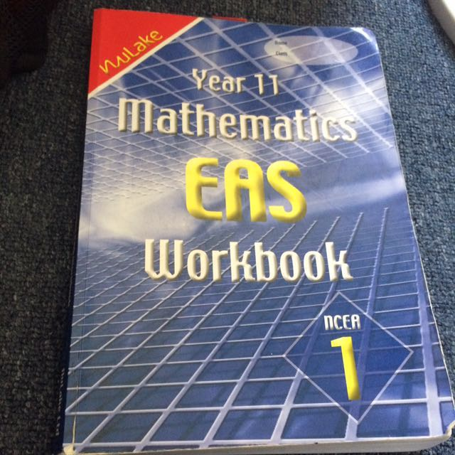 Year 11 Maths workbook