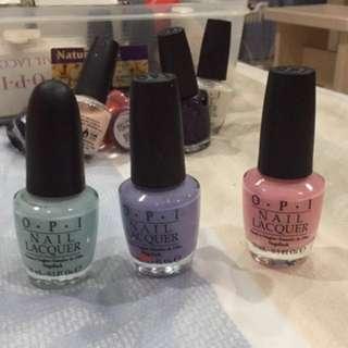 OPI Pastel Colors