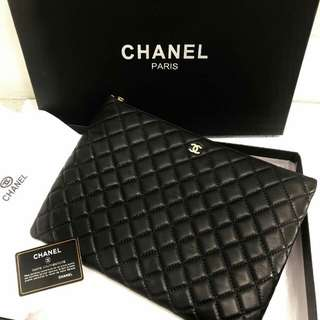 Chanel O Case Black