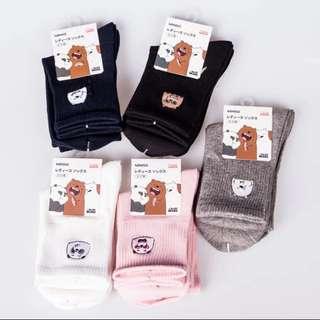 🚚 日單 熊熊遇見你 襪子
