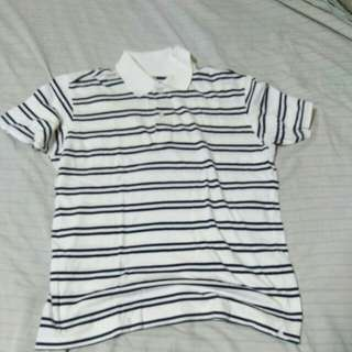 Uniqlo striped polo shirt