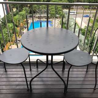 Patio | Balcony Set | 2 chairs + Table
