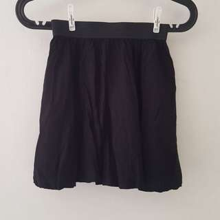 Black Cotton On Miniskirt