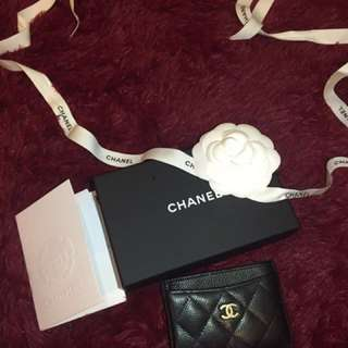 ✨Reduced✨Chanel card holder
