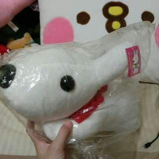 🚚 白色狗狗