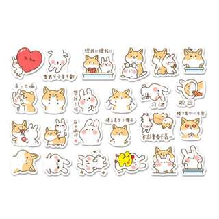 ⏰ Planner Stickers — Rabbits / Cats / Dogs / Animals / Expressive / Emojis