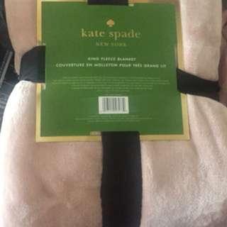 Pink Kate Spade King blanket