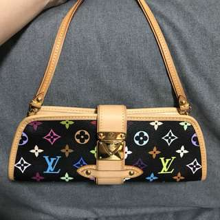 LV Limited 絕版 Multicolor Clutch