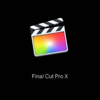 Final Cut Pro X 10.4 ( For Mac )