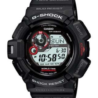 深水步有門市全新正版正貨1年保養 7日有壞包換 CASIO G-SHOCK G-9300-1D COMPASS 指南針