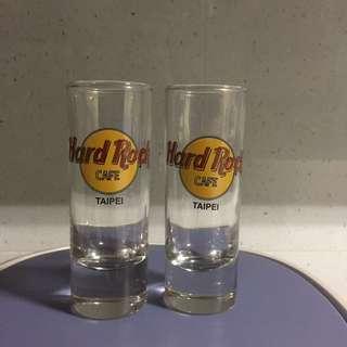 Hard Rock Cafe short glass