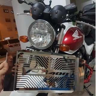 HONDA SUPER4 VTECH 1/2/3/Revo/Hyper-Vtec STAINLESS STEEL RADIATOR GUARD Installed!! 23/12/17