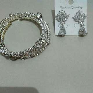 Diamond ring n bracelet