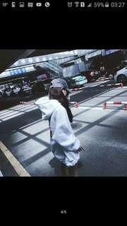 女裝加絨厚韓版圍衣