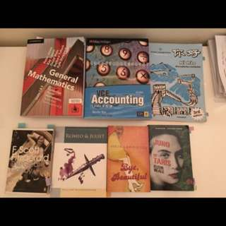 Textbooks for VCE and other years