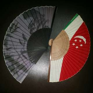 Foldable Handmade Fragant Fan